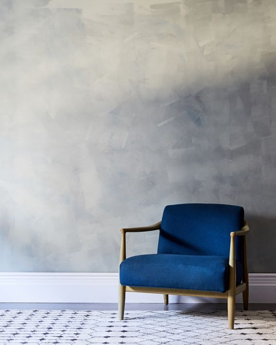 blue chair - one kings lane