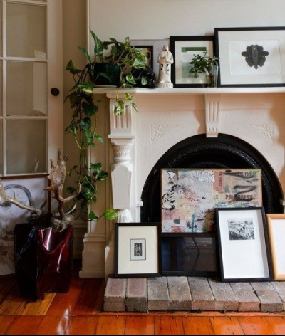 fireplace - apartment therapy 2
