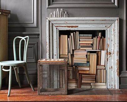 fireplace - good housekeeping