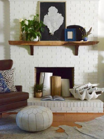 fireplace - nesting place